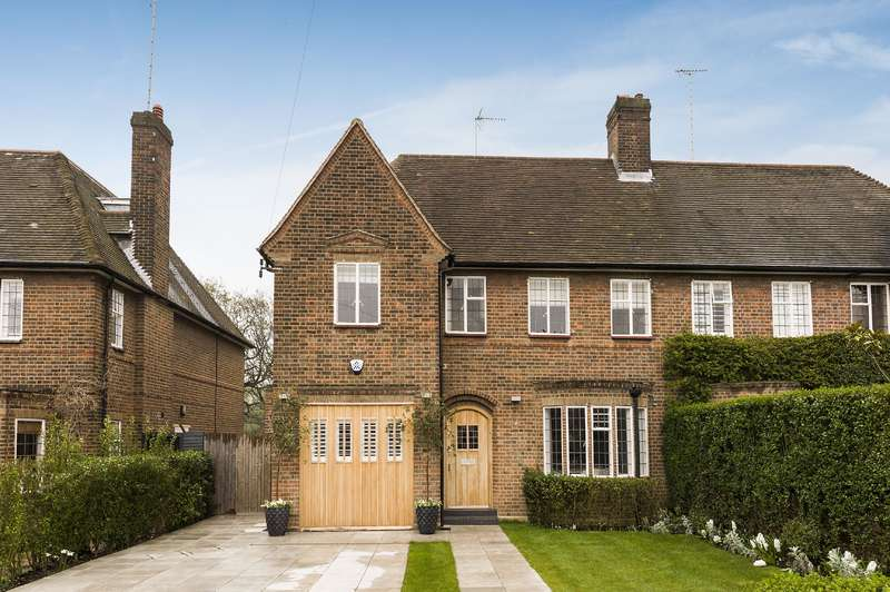 5 Bedrooms House for sale in Kingsley Way, Hampstead Garden Suburb