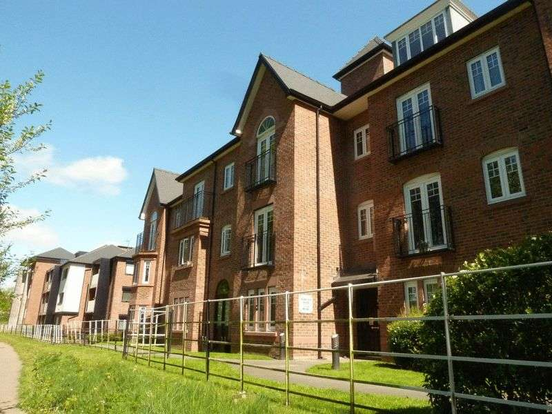 2 Bedrooms Flat for sale in Wheelock House, Barony Road, Nantwich