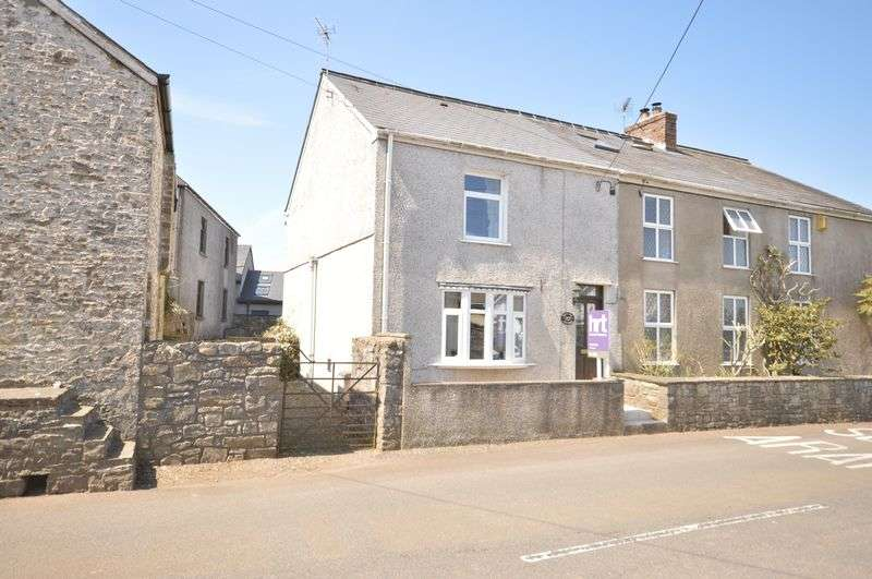 2 Bedrooms Semi Detached House for sale in Brynteg Cottage, Treoes, Vale of Glamorgan, CF35 5DL