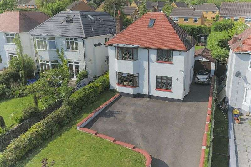 4 Bedrooms Detached House for sale in Cefn Road, Rogerstone