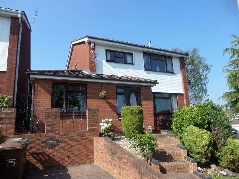 4 Bedrooms Detached House for sale in Waverley Gardens, Etchinghill, Rugeley