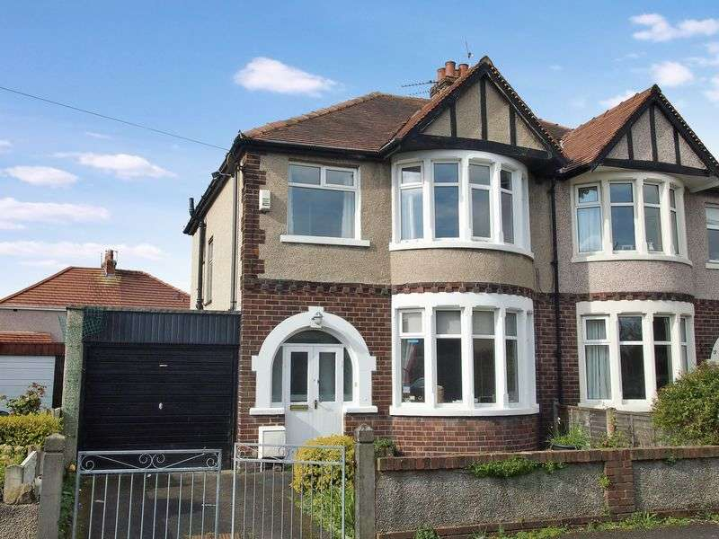 3 Bedrooms Semi Detached House for sale in Battismore Road, Morecambe