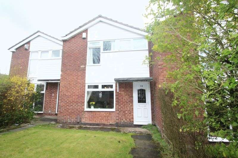3 Bedrooms Semi Detached House for sale in Beightons Walk, Shawclough OL12 6EA