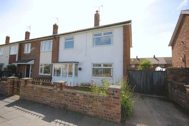 3 Bedrooms Semi Detached House for sale in Raleigh Road, Leasowe, Wirral