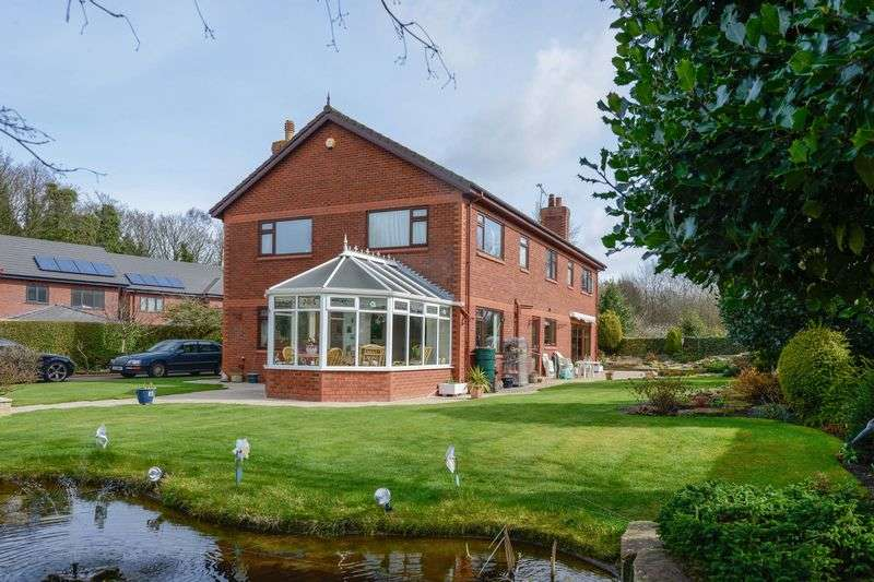 4 Bedrooms Detached House for sale in Rear Of 227 Prescot Road, Ormskirk