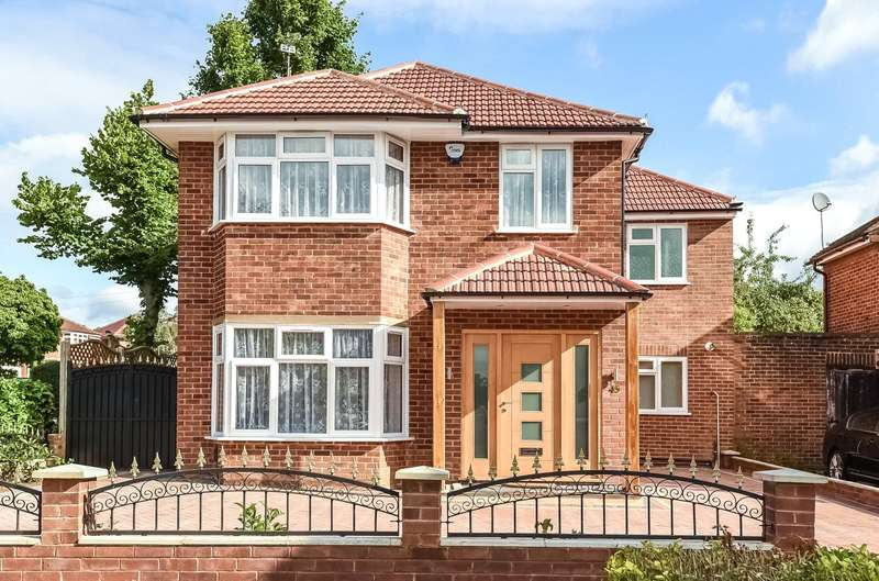 5 Bedrooms House for sale in Cedar Drive, Hatch End, Middlesex, HA5