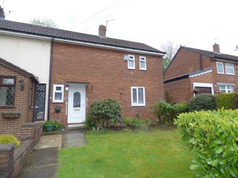 2 Bedrooms Property for sale in Worthington Avenue, Hopwood, HEYWOOD, Lancashire, OL10
