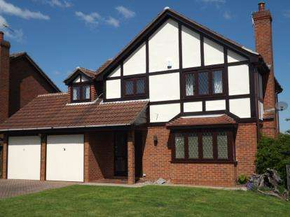 4 Bedrooms Detached House for sale in Rosewood Gardens, West Bridgford, Nottingham, Nottinghamshire