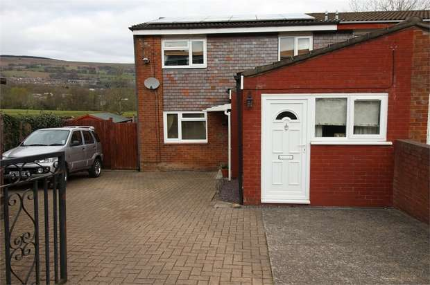 4 Bedrooms End Of Terrace House for sale in Trostrey, Hollybush, CWMBRAN