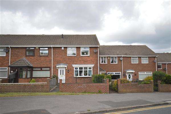 3 Bedrooms Link Detached House for sale in Station Villas, Shield Row, Stanley