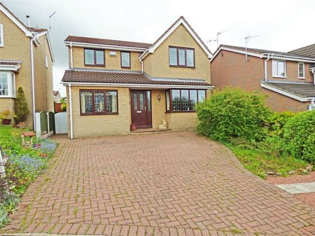 4 Bedrooms Detached House for sale in Stockley View, Bolsover, Chesterfield, Derbyshire