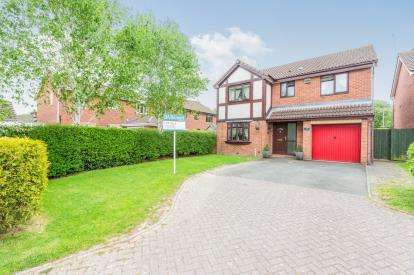 4 Bedrooms House for sale in Middles Avenue, Lyppard Hanford, Worcester, Worcestershire