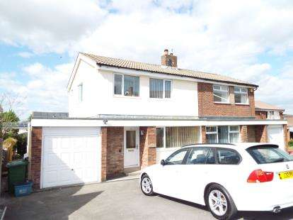 3 Bedrooms Semi Detached House for sale in Fairways Drive, Burnley, Lancashire, BB11