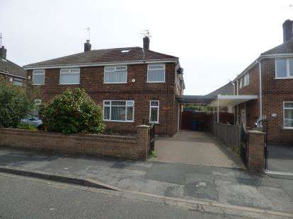 4 Bedrooms Semi Detached House for sale in Tennyson Drive, Warrington, WA2