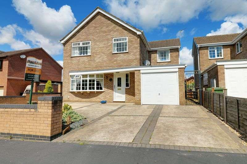 4 Bedrooms Detached House for sale in Welland Drive, Burton upon Stather