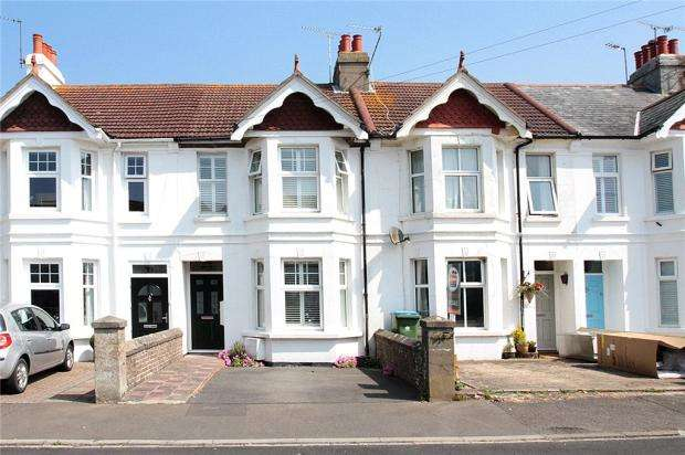 2 Bedrooms Terraced House for sale in Manor Road, East Preston, West Sussex, BN16