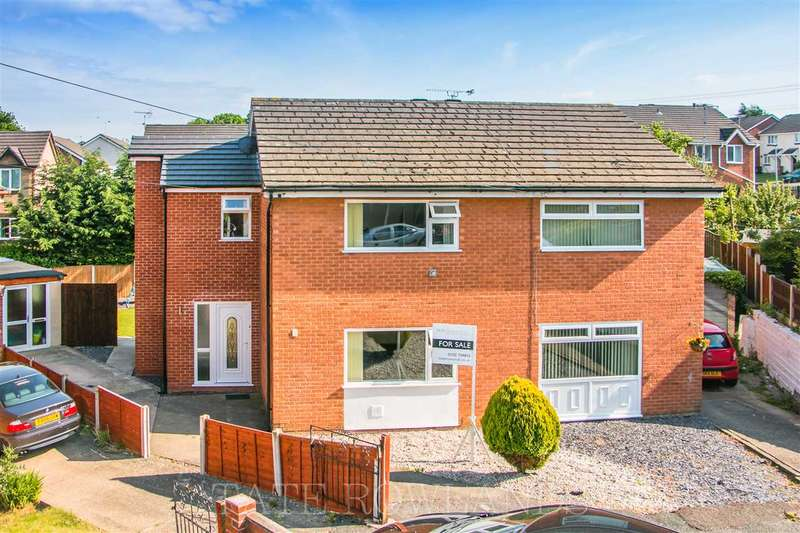 3 Bedrooms Semi Detached House for sale in Woodland Court, Flint