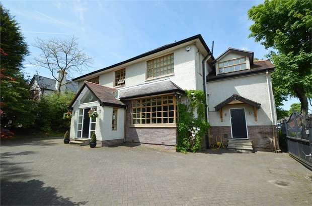 5 Bedrooms Detached House for sale in Ringley Road, Whitefield, MANCHESTER, Lancashire