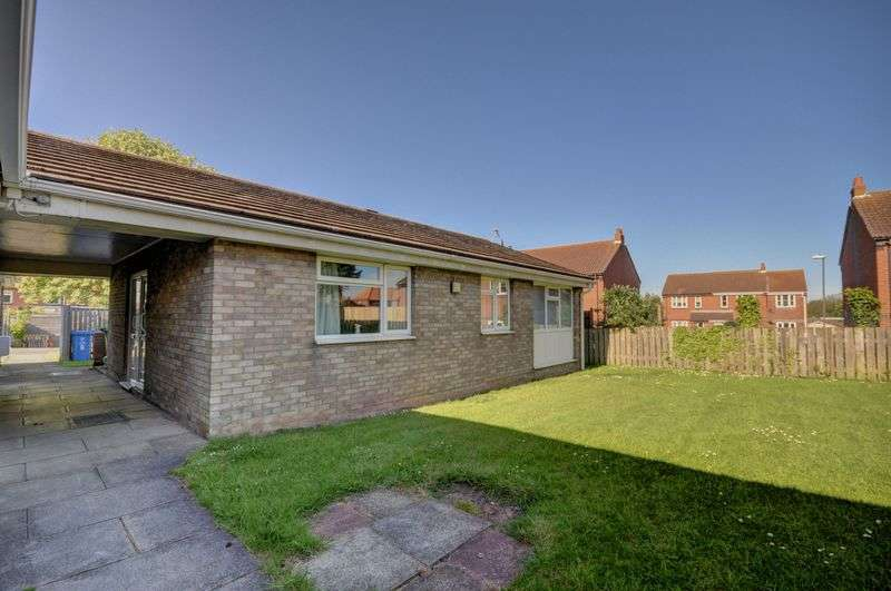 2 Bedrooms Semi Detached Bungalow for sale in Holly Tree Court, Whitby