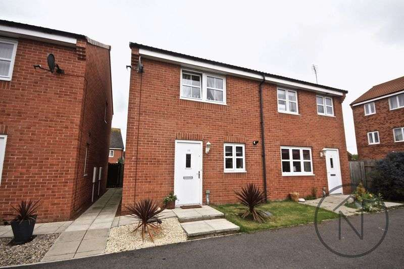 2 Bedrooms Semi Detached House for sale in Foss Court, Darlington