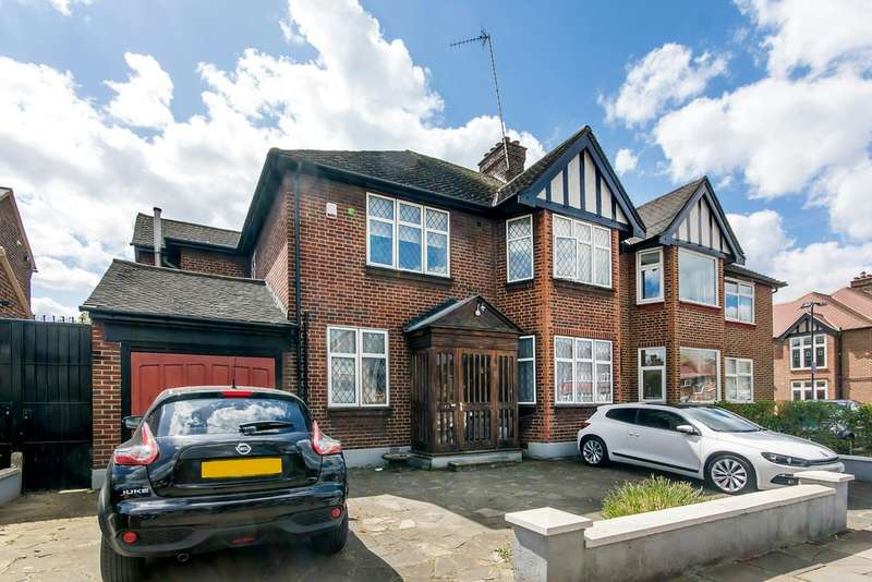 5 Bedrooms Semi Detached House for sale in ANSON ROAD, CRICKLEWOOD, LONDON, NW2