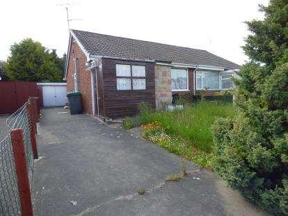 2 Bedrooms Bungalow for sale in Bentley Avenue, Wrexham, Wrecsam, LL11