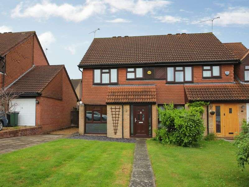 3 Bedrooms Semi Detached House for sale in Capsey Road, Ifield, Crawley, West Sussex