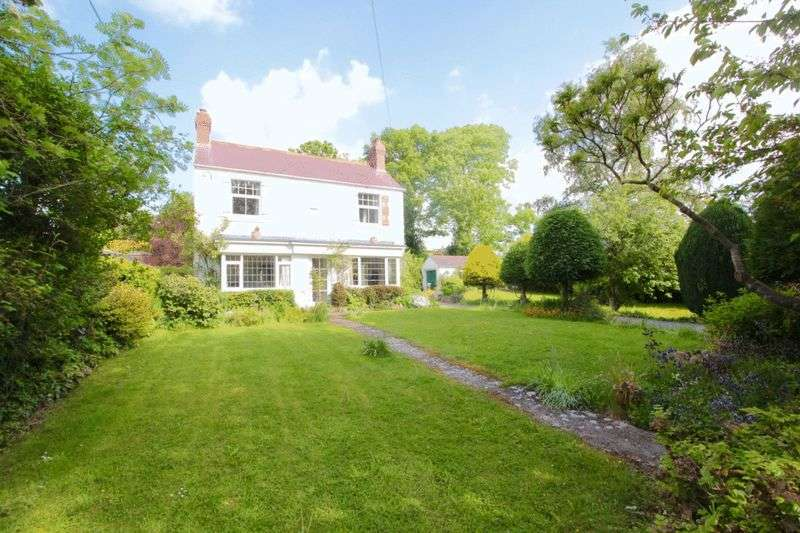 4 Bedrooms Detached House for sale in Brookhouse, Denbigh