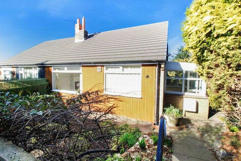 2 Bedrooms Semi Detached Bungalow for sale in Coppin Hall Lane WF14 0EJ