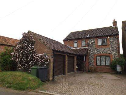 3 Bedrooms Detached House for sale in Felmingham, North Walsham, Norfolk