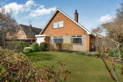 4 Bedrooms Bungalow for sale in Eastlands Lane, Church Warsop, Mansfield, Nottinghamshire