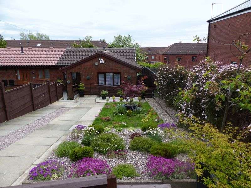 2 Bedrooms Semi Detached Bungalow for sale in Crowley Lane, Moorside