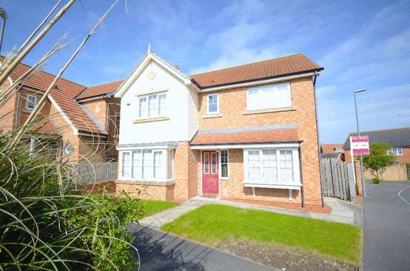 4 Bedrooms Detached House for sale in Weybourne Lea, East Shore Village, Seaham