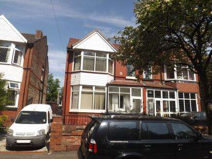 4 Bedrooms Semi Detached House for sale in Northmoor Road, Manchester, Greater Manchester