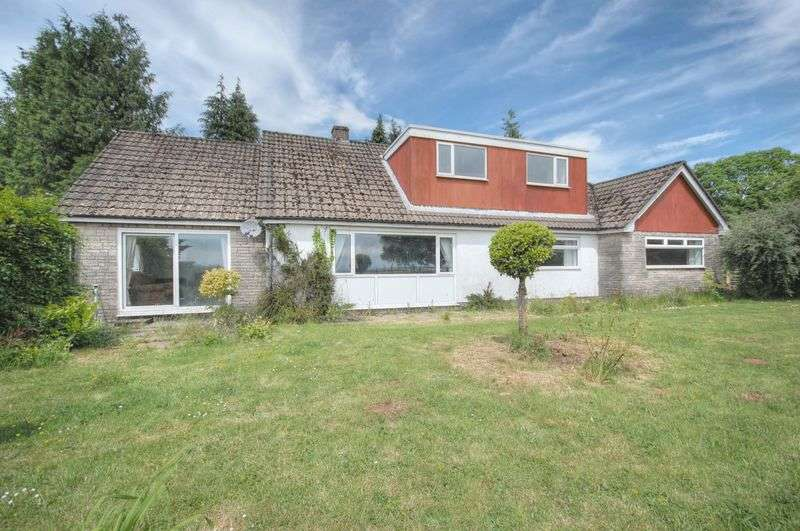5 Bedrooms Detached Bungalow for sale in Llwyn Celyn Bungalow, Rudry Road, Lisvane, Cardiff, CF14 0SN