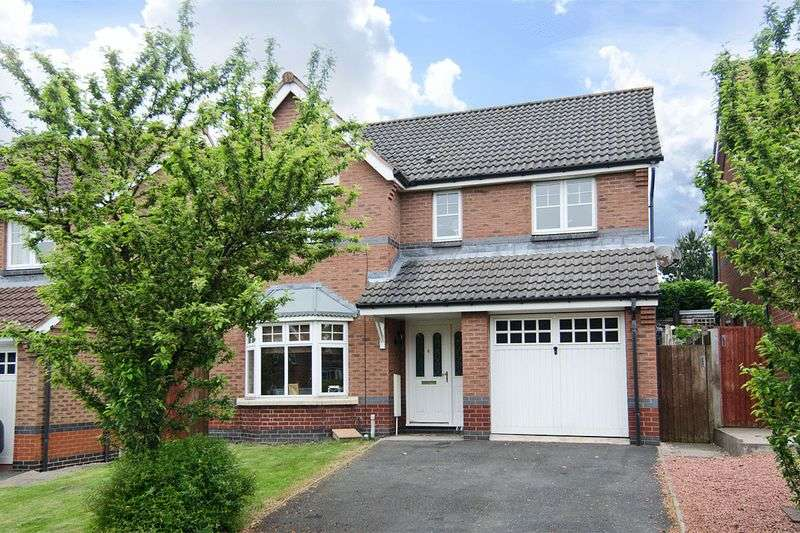 4 Bedrooms Detached House for sale in Chasewater Way, Norton Canes, Cannock