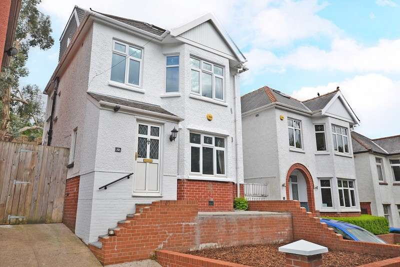 4 Bedrooms Detached House for sale in Beechwood Road, Newport, Gwent. NP19 8AA