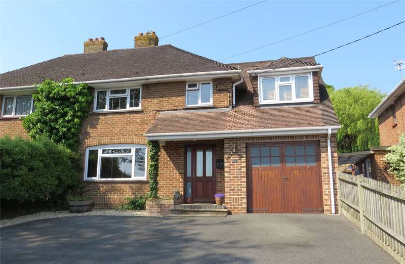 4 Bedrooms Semi Detached House for sale in North Close, Lymington, Hampshire, SO41