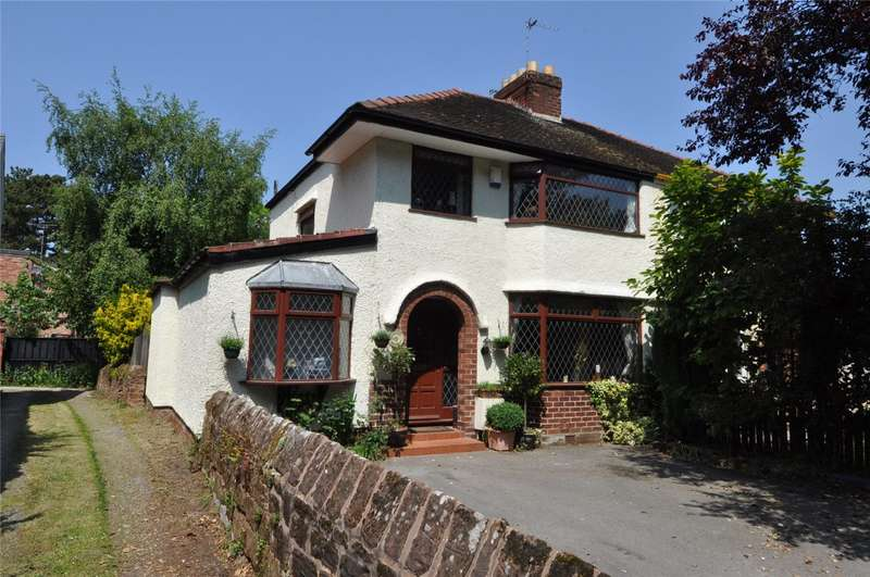 3 Bedrooms Semi Detached House for sale in Montgomery Hill, Frankby, Wirral