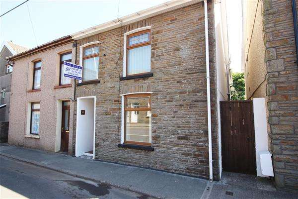 4 Bedrooms End Of Terrace House for sale in Penrhiwfer Rd, Porth