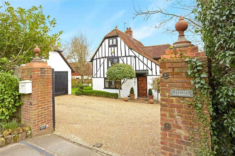 4 Bedrooms Detached House for sale in Hadlow Road, Tonbridge, Kent, TN9