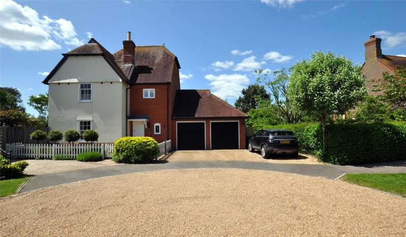 3 Bedrooms Detached House for sale in Drewitts Mews, Oving, Chichester, West Sussex, PO20