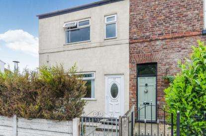 3 Bedrooms End Of Terrace House for sale in Knutsford Road, Warrington, Cheshire