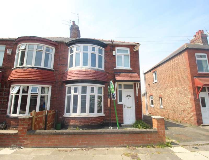 3 Bedrooms Semi Detached House for sale in Williams Avenue, Middlesbrough, TS5