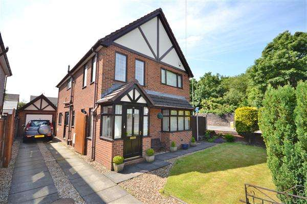 4 Bedrooms Detached House for sale in Anderton Road, Euxton, Chorley