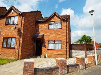 2 Bedrooms House for sale in Cornwall Grove, Crewe, Cheshire