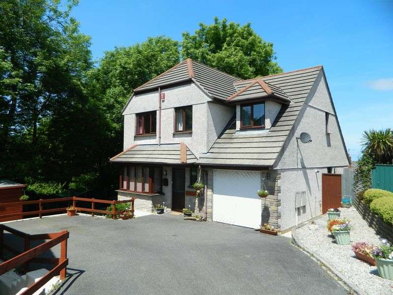 4 Bedrooms Detached House for sale in Parc-An-Bans, Camborne