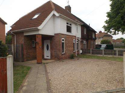 3 Bedrooms Semi Detached House for sale in Croft Avenue, Hucknall, Nottingham, Nottinghamshire