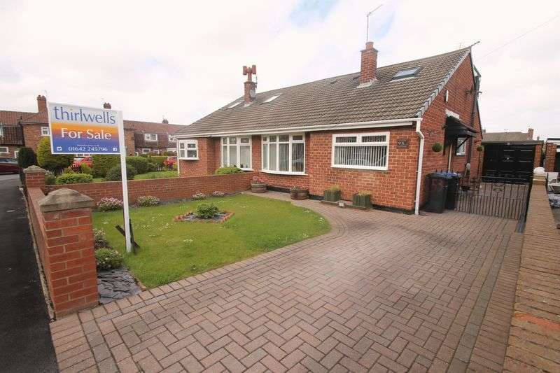 3 Bedrooms Semi Detached Bungalow for sale in Coronation Green, Ormesby