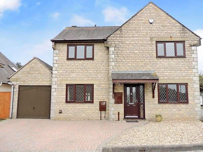 4 Bedrooms Detached House for sale in Bagworth Drive, Longwell Green, Bristol